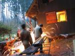 Svařování žebříků a malý objev v jeskyni Dagmar! (14.–17.11.2014)