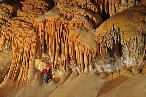 Sintropády Demänovská jeskyně Míru - Foto Lukáš Kubičina