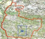 Mapový list  Komen-24 (2B 22-24)