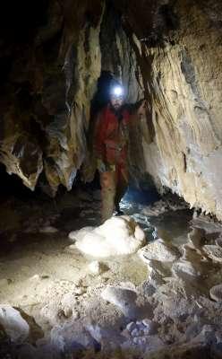 Objevy v jeskyni v Sokole