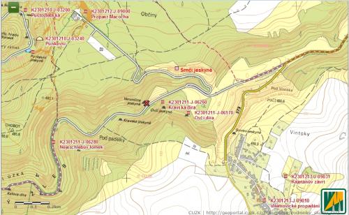 Exkurze do Propástky u Verunčiny jeskyně – poznámky ke geologii lokality