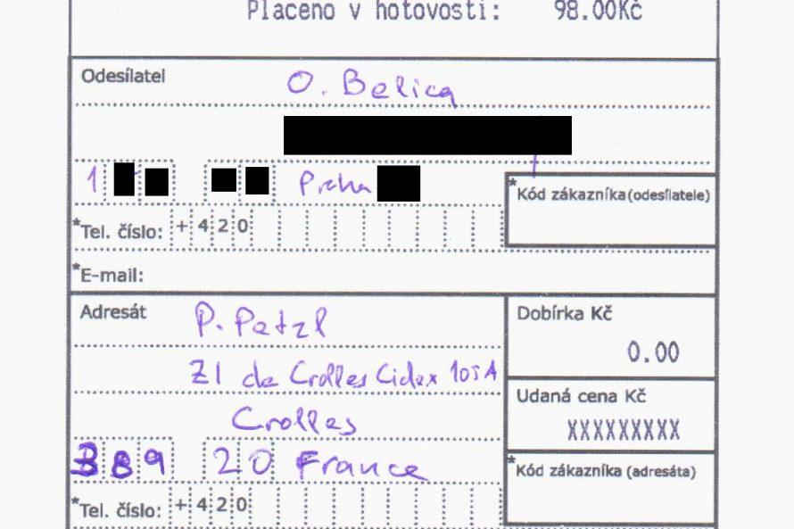 Otevřený dopis P. Petzlovi  /  open letter to P. Petzl  /  lettre ouverte à P. Petzl